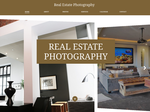 Photography 9 website template