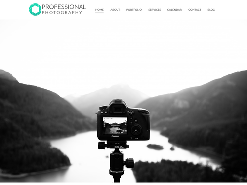 Outdoor Photography website template