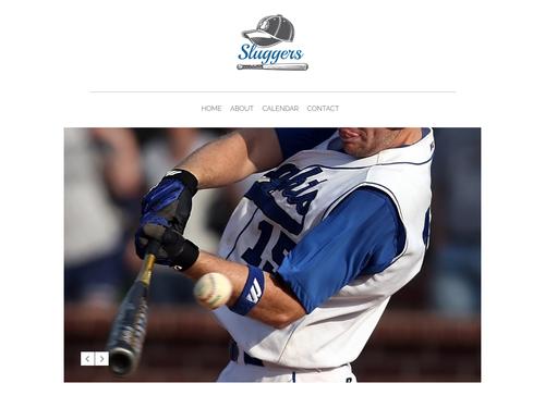 Slugger website template