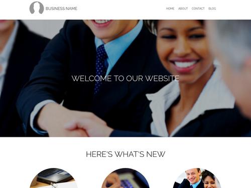 WebStarts AI Default website template