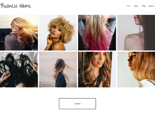 Social Sharing website template