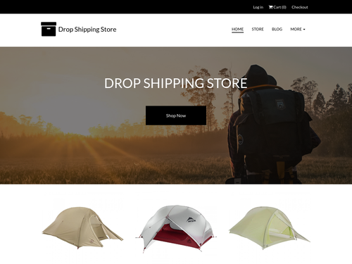 Drop Shipping website template